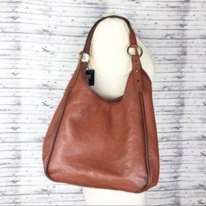Frye Madison Cognac Shoulder Bag Purse NWT